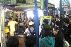Street video gamer in Yokohama